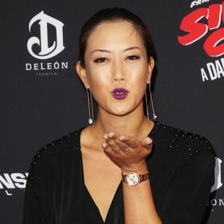 Michelle Wie in Los Angeles Premiere of Sin City: A Dame to Kill For