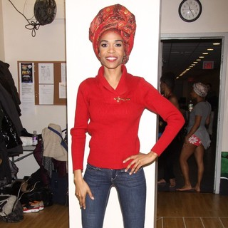 Michelle Williams (II) in Fela! 2013 National Tour Rehearsal