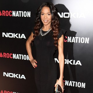 Michelle Williams (II) in Roc Nation Pre-Grammy Brunch