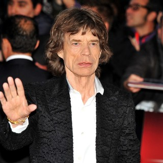 Mick Jagger in 56th BFI London Film Festival - The Rolling Stones: Crossfire Hurricane - Gala Screening - Arrivals
