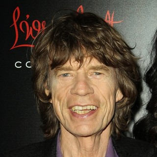 Mick Jagger - The Launch of The Banana Republic L'Wren Scott Collection