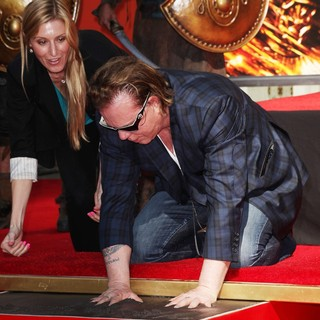 Mickey Rourke Is Honoured with A Hand and Footprint Ceremony - mickey-rourke-honoured-hand-and-footprint-ceremony-12