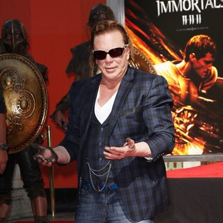 Mickey Rourke Is Honoured with A Hand and Footprint Ceremony - mickey-rourke-honoured-hand-and-footprint-ceremony-13