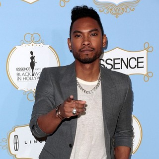 Miguel in 6th Annual Essence Black Women in Hollywood Luncheon
