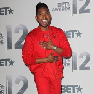 Miguel in The BET Awards 2012 - Press Room