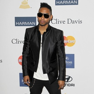 Miguel in Clive Davis and The Recording Academy's 2013 Pre-Grammy Gala and Salute to Industry Icons