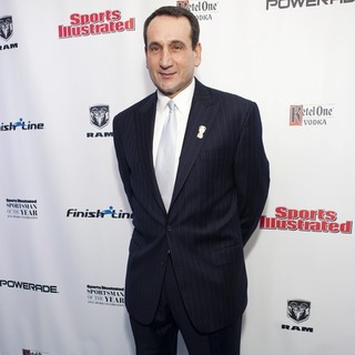Mike Krzyzewski in 2012 Sports Illustrated Sportsman of The Year Award Presentation