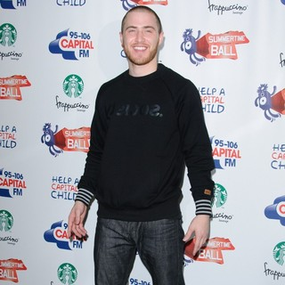Mike Posner in 95-106 Capital FM Summertime Ball - Arrivals