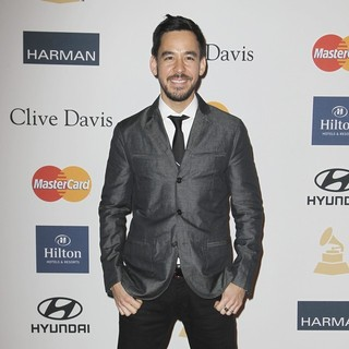 Mike Shinoda, Linkin Park in Clive Davis and The Recording Academy's 2013 Pre-Grammy Gala and Salute to Industry Icons
