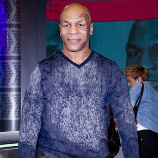 Mike Tyson in Mike Tyson Appearing on The BET's 106 and Park Taping