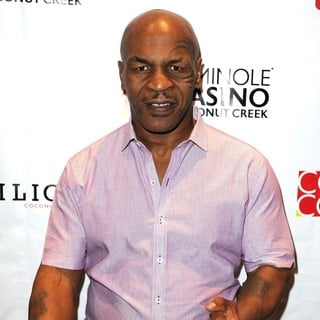 Mike Tyson in Mike Tyson Appears at The Seminole Casino Coconut Creek
