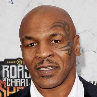 Mike Tyson in Comedy Central Roast of Charlie Sheen - Arrivals
