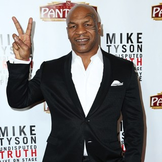 Mike Tyson in The Los Angeles Opening Night of Mike Tyson - Undisputed Truth