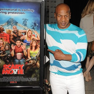 Mike Tyson in Los Angeles Premiere of Scary Movie 5