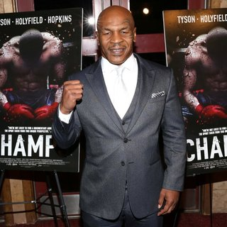 Mike Tyson in New York Screening of Champs - Arrivals