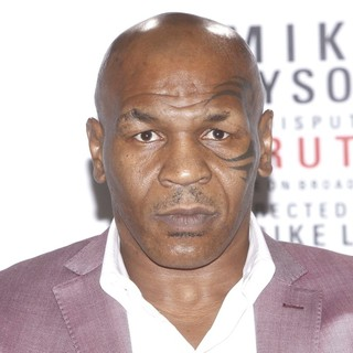 Mike Tyson in Mike Tyson Undisputed Truth, Live on Broadway Press Conference