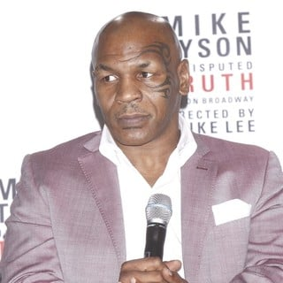 Mike Tyson Undisputed Truth, Live on Broadway Press Conference