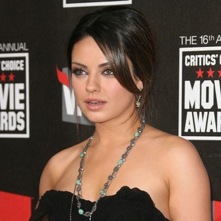 Mila Kunis in 16th Annual Critics' Choice Awards - Arrivals