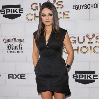 Mila Kunis in Spike TV's 2012 Guys Choice - Arrivals