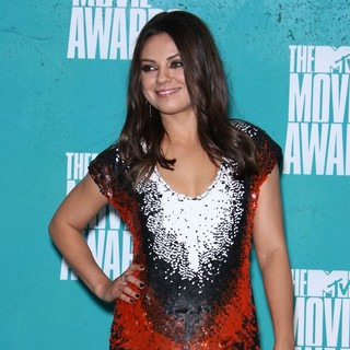 Mila Kunis in 2012 MTV Movie Awards - Press Room