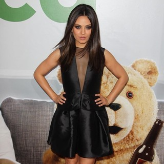 Mila Kunis in The Los Angeles Premiere Ted - Arrivals