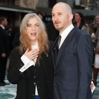 Patti Smith, Darren Aronofsky in U.K. Premiere of Noah - Arrivals