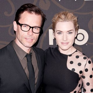 "Guy Pearce, Kate Winslet in The New York Premiere of ""Mildred Pierce"" - Arrivals"
