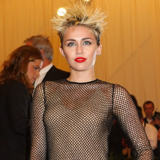 Miley Cyrus - PUNK: Chaos to Couture Costume Institute Gala