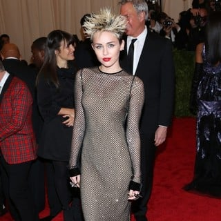 Miley Cyrus in PUNK: Chaos to Couture Costume Institute Gala