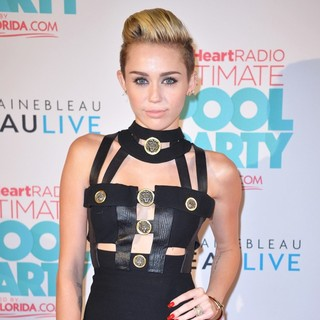 Miley Cyrus in iHeartRadio Ultimate Pool Party - Arrivals