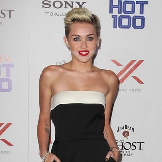 Miley Cyrus in The Maxim Hot 100 Party - Arrivals