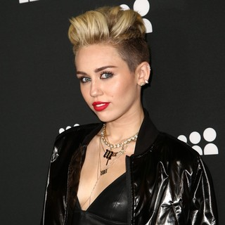 Miley Cyrus in Myspace Event - Arrivals