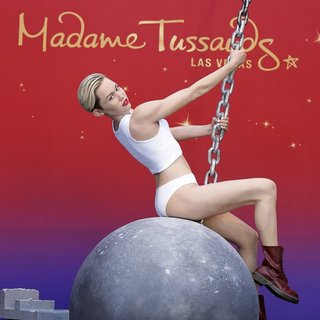 Miley Cyrus Brand New Madame Tussauds Wax Figure to Debut on A Wrecking Ball