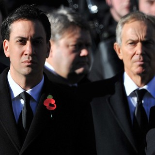 Ed Miliband, Tony Blair in Sunday Commemorating Sacrifices of The Armed Forces
