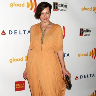 Milla Jovovich in The 23rd Annual GLAAD Media Awards