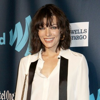 Milla Jovovich in 24th Annual GLAAD Media Awards - Arrivals