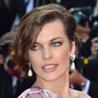 Milla Jovovich in On the Road Premiere - During The 65th Cannes Film Festival