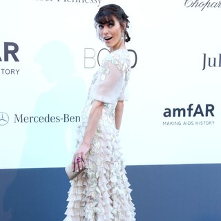 Milla Jovovich in 66th Cannes Film Festival - amfAR's 20th Annual Cinema Against AIDS - Arrivals