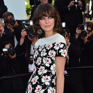 Milla Jovovich in 66th Cannes Film Festival - Blood Ties Premiere
