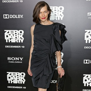 Milla Jovovich in Los Angeles Premiere of Columbia Pictures' Zero Dark Thirty