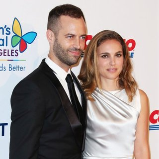Benjamin Millepied, Natalie Portman in 2014 Children's Hospital Los Angeles' Gala: Noche De Ninos - Arrivals