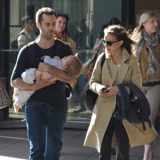 Natalie Portman Spotted with Benjamin Millepied Leaving The Juilliard and SAB Cafe - millepied-portman-leaving-juilliard-and-sab-cafe-03
