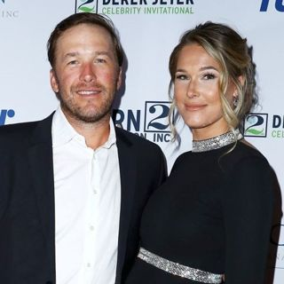 Bode Miller, Morgan Beck in Derek Jeter Celebrity Invitational