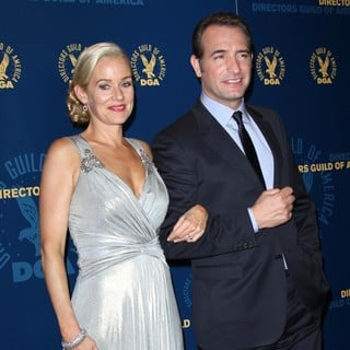 Penelope Ann Miller, Jean Dujardin in 64th Annual Directors Guild of America Awards - Press Room