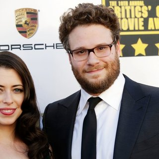 Lauren Miller, Seth Rogen in The 19th Annual Critics' Choice Awards