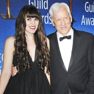 Sara Miller, James Woods-The 2017 Writers Guild Awards