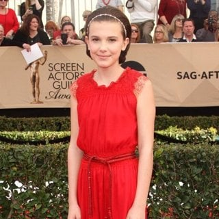 Millie Bobby Brown in 23rd Annual Screen Actors Guild Awards - Arrivals
