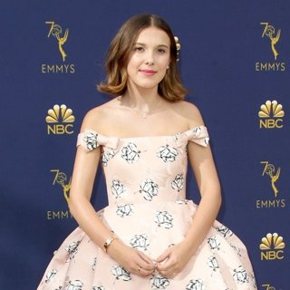 Millie Bobby Brown in 70th Emmy Awards - Arrivals