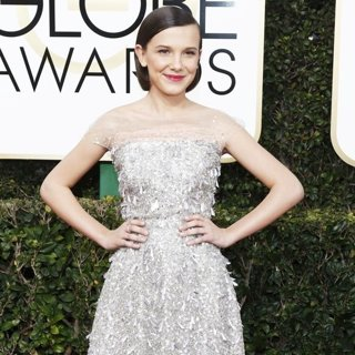 Millie Bobby Brown in 74th Golden Globe Awards - Arrivals