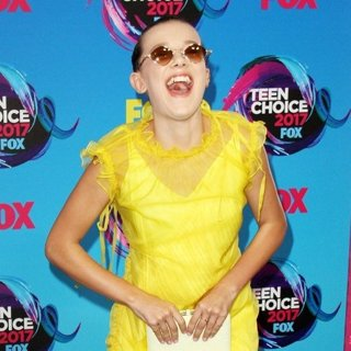 Millie Bobby Brown in Teen Choice Awards 2017 - Arrivals